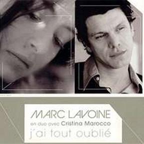 Marc Lavoine & Cristina Marocco