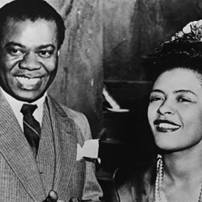 Billie Holiday, Louis Armstrong