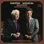 Daniel Barenboïm - Beethoven: concertos nos. 15