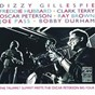 Album The trumpet summit meets the oscar peterson big four de Joe Pass / Dizzy Gillespie / Freddie Hubbard / Terri Clark / Oscar Peterson