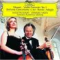 Album Mozart: Sinfonia concertante K. 364 de Augustin Dumay / Camerata Academica Salzburg / Veronika Hagen / W.A. Mozart