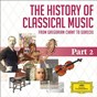 Compilation The history of classical music - part 2 - from haydn to paganini avec Ingeborg Springer / Joseph Haydn / The English Chamber Orchestra / Daniel Barenboïm / Karl Böhm...