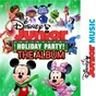 Compilation Disney junior music holiday party! the album avec Minnie / Beau Black / Alex Cartana / Fancy Nancy / Doc Mcstuffins...