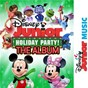 Compilation Disney junior music holiday party! the album avec Minnie / Beau Black / Alex Cartana / Cast / They Might Be Giants