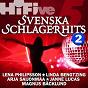 Compilation Hi-five: svenska schlagerhits 2 avec Janne Lucas / Lena Philipsson / Linda Bengtzing / Magnus Backlund / Arja Saijonmaa