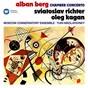 Album Berg: chamber concerto for piano, violin and 13 wind instruments de Sviatoslav Richter / Alban Berg