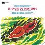 Album Stravinsky: Le sacre du printemps, 4 Études & Scherzo à la russe de Eliahu Inbal