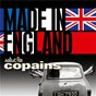 Compilation Salut les copains ? made in england avec The Moody Blues / The Shadows / Cliff Richard & the Shadows / Vince Taylor / Pétula Clark...