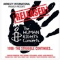 "Compilation Released! - the struggle continues 1998 (live) avec Youssou N'Dour / Bruce Springsteen ""The Boss"" / Peter Gabriel / Tracy Chapman / Alanis Morissette..."