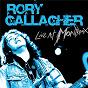 Album Live at montreux (live) de Rory Gallagher