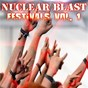 Compilation Nuclear blast festivals vol. 1 avec Threat Signal / Belphegor / Agnostic Front / Blind Guardian / Death Angel...