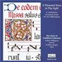 Album A thousand years in thy sight: a celebration of sacred music for the millennium de Geoffrey Morgan / The Choir of Guildford Cathedral / Andrew Millington / Orlando Gibbons / Georg Friedrich Haendel...