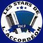 Compilation Les stars de l'accordéon, vol. 9 avec Nouvelle Vague / Guy Denys / Maurice Larcange / Marcel Masson / Pascal Andrews...