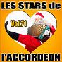 Compilation Les stars de l'accordéon, vol. 71 avec Karine Fontaine / Manu Maugain / Jean Harduin / Roland Zaninetti / Cyrille Renaut...