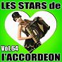 Compilation Les stars de l'accordéon, vol. 64 avec Mickaël Richard / Clody Musette / Guy Denys / Jean Reuvière / Damien Poyard...