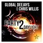 Album Party 2 daylight de Chris Willis / Global Deejays