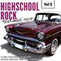 Compilation Highscool rock teenage bop, vol. 5 avec Al Jones / Carol Hughes / Laurie London / The Courts Men / David Frizzell...