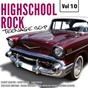 Compilation Highscool rock teenage bop, vol. 10 avec Anastasia / Barry Martin / Wally Hawkins / Roy Clark / Pat O´day...
