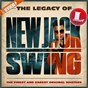 Compilation The Legacy of New Jack Swing avec Brownstone / Keisha Jackson / R. Kelly / Public Announcement / Aaliyah...