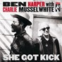 Album She got kick (international) de Charlie Musselwhite / Ben Harper