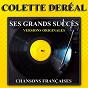 Album Ses grands succès (versions originales) de Colette Déréal