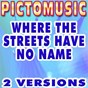 Album Where the streets have no name (karaoke version) (originally performed by u2) de Pictomusic