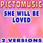 Album She will be loved (karaoke version) (originally performed by maroon 5) de Pictomusic