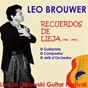 Album Recuerdos de lieja (live in lukowski guitar festival) de Brouwer Léo
