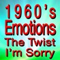 Compilation 1960's emotions the twist I'm sorry (original songs original artists) avec Four Preps / Chubby Checker / Ray Peterson / Fats Domino / Bobby Rydell...