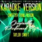 Album Sweeter than fiction (karaoke version) (originally performed by taylor swift) de Ameritz Entertainment