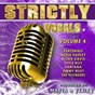 Compilation Mafia & fluxy presents strictly vocals, vol. 4 avec George Decker / Notrele / Robert Campbell / Carlos Santana / Terry Linnen...