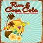 Compilation Rum & coca cola (the latin summer collection) avec Pupi Campo / The Andrews Sisters / Bob Crosby / Machito, Afro Cuban Orchestra / Don Reed, the Xavier Cugat Orchestra...