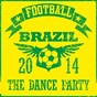 Compilation Football brazil 2014 - the dance party avec Football Disco Club / Elucid / El Ritma / The Champions / Carnavallo...