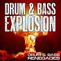 Compilation Drum & bass explosion avec DJ Atom Bomb / Killa Trak / DJ Haterjuice / DJ Madd Hatter / Fellatronix...