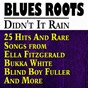 Compilation Didn't It Rain (25 Hits And Rare  Songs from  Ella Fitzgerald Bukka White Blind Boy Fuller And More) avec Jimmy Rushing / Norfolk Jubilee Quartet / Mildred Bailey / Gladys Palmer / Ivie Anderson, Rex Stewart...
