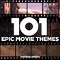 Compilation 101 epic movie themes avec Leigh Harline / John Barry / Dimitri Tiomkim / Malcolm Arnold & the Royal Philharmonic / Sidney Torch & His Orchestra...