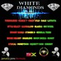 Compilation White Diamonds Riddim (Majestik Dominion Records Presents - Jamaica Joins Bermuda) avec Sharlene / Turbulence / Marca-T / Mikey Wild / X-Ale...