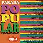 Compilation Parada popular, vol. 4 avec Tarcys Andrade / Leuo / Augusto César / Carlos Gonzaga / Fernando Luiz...