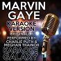Album Marvin gaye (karaoke version) (originally performed by charlie puth & meghan trainor) de Karaoke Galaxy