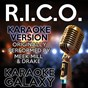 Album R.i.c.o. (karaoke version) (originally performed by meek mill & drake) de Karaoke Galaxy