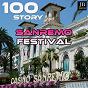 Compilation Sanremo festival story (100 hits piu' belle DI sempre) avec Germana Caroli / Tony Renis / Betty Curtis / Adriano Celentano / Mina...
