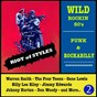 Compilation Wild rockin 50's: punk & rockabilly, vol. 2 (riot of styles) avec Gene Lewis / Wayne Walker / Don Woody / Warren Smith / Little Jimmy Dickens...