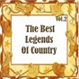 Compilation The best legends of country, vol. 2 avec Freddy Fender / Dolly Parton / Frankie Laine / Glen Campbell / Johnny Cash...
