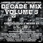 Compilation Hard kryptic records decade mix, vol. 5 (continuously mixed by how hard) avec DJ Delirium / Moleculez / Audio Revolt / Delta 9 / External Noizes...
