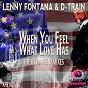 Album When you feel what love has (the us dance remixes) de Lenny Fontana / D-Train