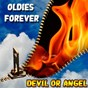 Compilation Oldies forever : devil or angel avec The Surfaris / Bobby Vee / Eileen Barton, the New Yorkers / The Four Seasons / Fats Domino...