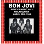 Album Ripley's music hall, philadelphia, march 3rd, 1984 (HD remastered edition) de Bon Jovi