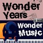 Compilation Wonder years, wonder music. 125 avec Gerry & the Pacemakers / Ricky Nelson / The Shadows / The Beach Boys / Peter...