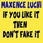 Album If you like it then don't fake it de Maxence Luchi