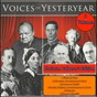 Compilation The Greatest Voices of Yesteryear (Platinum Collector's Edition) avec Adolph Hitler / J.R.R Tolkein / A.A Milne / Sir Arthur Conan Doyle / W.B Yeats...